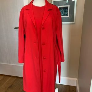 Jonathan Saunders two piece dress and trench